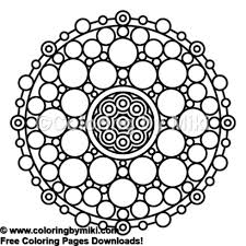 Zen Mandala Coloring Page 667 Coloring By Miki