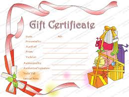 christmas certificates templates gift certificate template beautiful printable gift certificate
