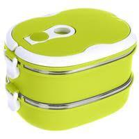 <b>Термо ланч</b>-<b>бокс</b> двойной <b>Bradex</b> Bento зеленый 1.5 л ...
