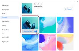 desktop wallpaper on a google chromebook
