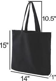 Tote Bag Size Chart Cotton Tote Bags Tote Bags For Teachers