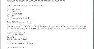 Changing Address At Post Office Koindekanemoti Site