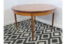 retro mid 20th century g plan teak round circular to oval extending dining table photo 1