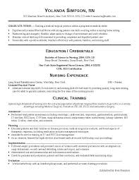 Sample Surgical Nurse Resume Surgical Nurse Resume Nursing Resume