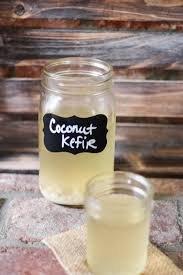 kefir. coconut water kefir recipe - benefits include glowing skin and more energy