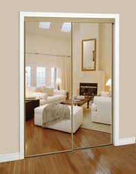 Slimfold Sliding Mirrored Doors