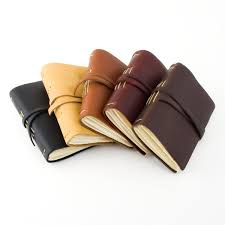 rustico leather small leather pocket journal