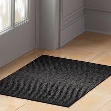 chilewich black ombre mats