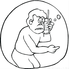 Cell Phone Coloring Page Cell Phone Coloring Page Colouring Pages