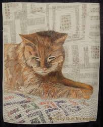 263 best Cat Quilts images on Pinterest | Cat quilt, Cats and ... & Quilt Inspiration: It's Raining Cats and Dogs: Part 1 Adamdwight.com