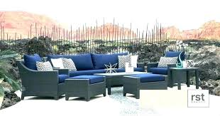 blue wicker chair navy patio cushions alluring furniture with high back red white and cha