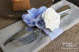 The key to these napkins rings is this gorgeous 1.5