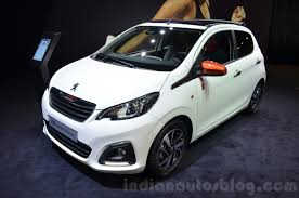2018 peugeot 108. contemporary 2018 peugeot 108 roland garros front three quarter for 2018 peugeot