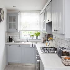 Image Credit: Lizzie Orme. In A Small Kitchen An L Shape ...