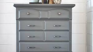 modern grey diy dresser guest post