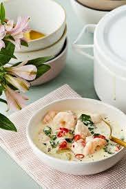 Easy Keto Seafood Chowder — Recipe ...