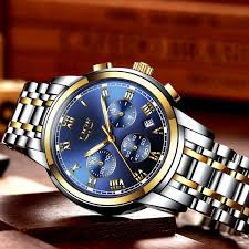 <b>2018</b> New Watches <b>Men</b> Luxury Brand <b>LIGE</b> Chronograph <b>Men</b> ...