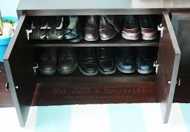 Build In Shoe Cabinet How To Build A Storage Bench Stacy Risenmay