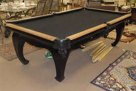 Combination Pool Table Dining Room Table Modern Furniture Modern Home Wood Furniture Large Carpet Picture