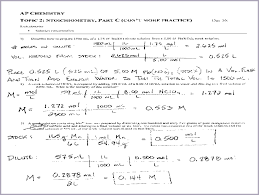 chemistry stoichiometry worksheet ap chemistry topic 2 stoichiometry part c worksheet png 1414475259