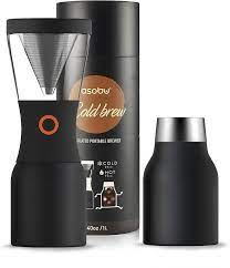 We make shopping quick and easy. Amazon Com Asobu Coldbrew Portable Cold Brew Coffee Maker With A Vacuum Insulated 34oz Stainless Steel 18 8 Carafe Bpa Free Kitchen Dining