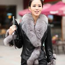 warm leather jacket for women beautiful