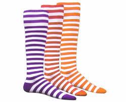Bumble Bee Mini Hoop Knee High Athletic Socks In Many Color