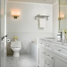 simple white bathrooms. White Marble Bathroom - Traditional Vancouver By The Sky Is Limit Design Simple Bathrooms