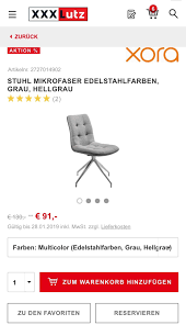 6 Stühle Von Xxl Lutz Zu Verkaufen