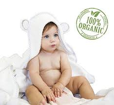 Cute Hypoallergenic Thick Plush Hooded Baby Bath Towel | Amazon ...