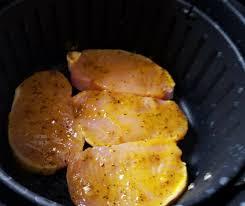 air fryer honey mustard pork chops