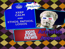 aristotle s appeals ethos pathos logos writing an argumentative  aristotle
