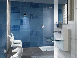 Contemporary Blue Bathroom Tiles S For Modern Ideas