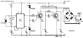 inverter v dc to v dc schematic design