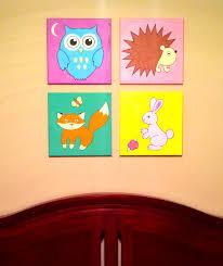 original hand made fox nursery wall art 12 x 12 acrylic painting on on baby room wall art painting with original hand made fox nursery wall art 12 x 12 acrylic painting