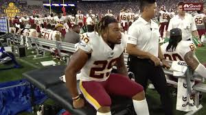 It's not just Alex Smith - Derrius Guice also dealt with post ...