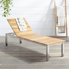 teak chaise lounge chairs. Macon Teak Outdoor Sun Lounger - Natural Chaise Lounge Chairs