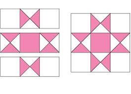 Ohio Star Quilt Pattern