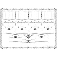 Pedigree Generation Printable Online Charts Collection
