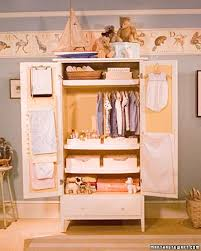 furniture for hanging clothes. organizing babyu0027s armoire furniture for hanging clothes