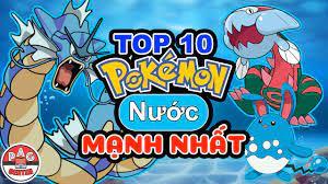 Xếp hạng Top 10 Pokemon hệ NƯỚC mạnh nhất và tốt nhất   Top 10 Best WATER  Type Pokemon