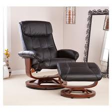 back to classy leather chair and ottoman sets