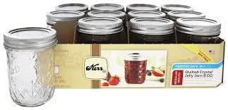 ball 12ct 4oz quilted jelly jar. amazon.com: kerr quilted crystal jelly jar 8oz set of 12: canning jars: kitchen \u0026 dining ball 12ct 4oz