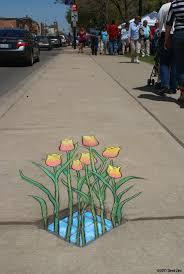 70 Sidewalk Chalk Art Of Sluggo By David Zinn Street Art