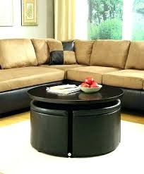 rectangular storage ottoman coffee table large with medium size of round fabric leather ottoman coffee table