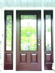 front doors with glass panels replace glass panels in front door house interior design urspaceclub exterior