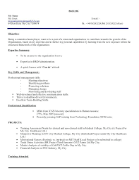 Sample Hr Resumes For Freshers Hr Fresher Resume Format Template Mba