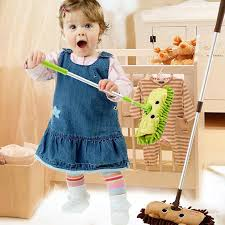<b>Baby Mini House</b> Sweeping Mop Superfine Fiber Floor Mop ...
