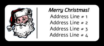 Christmas Address Label Under Fontanacountryinn Com