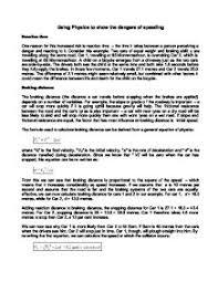 dangers of speeding essay dangers of speeding essay zone